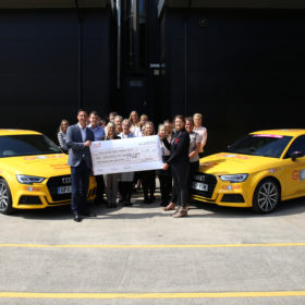 TDY Official Vehicle Partner, Global, Fundraises to Keep the Yorkshire Air Ambulance up in the Air.
