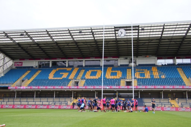 Global East Stand with Leeds Rhinos